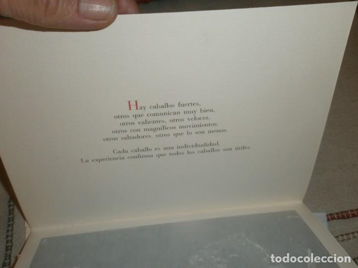 Libros de segunda mano: El caballo de pura raza española edición limitada 1500 libro con 12 fotografias Javier Herranz - Foto 4 - 206580285