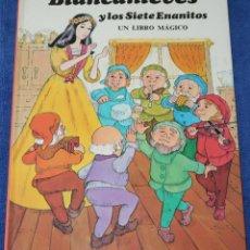 Libros de segunda mano: BLANCANIEVES Y LOS SIETE ENANITOS - UN LIBRO MÁGICO - LIBRO POP-UP - MONTENA. Lote 206597157