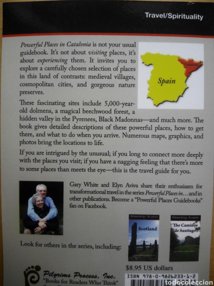 Libros de segunda mano: Powerful places Catalonia guía enigmas esoterismo Cataluña Besalú Girona english inglés - Foto 2 - 206767073