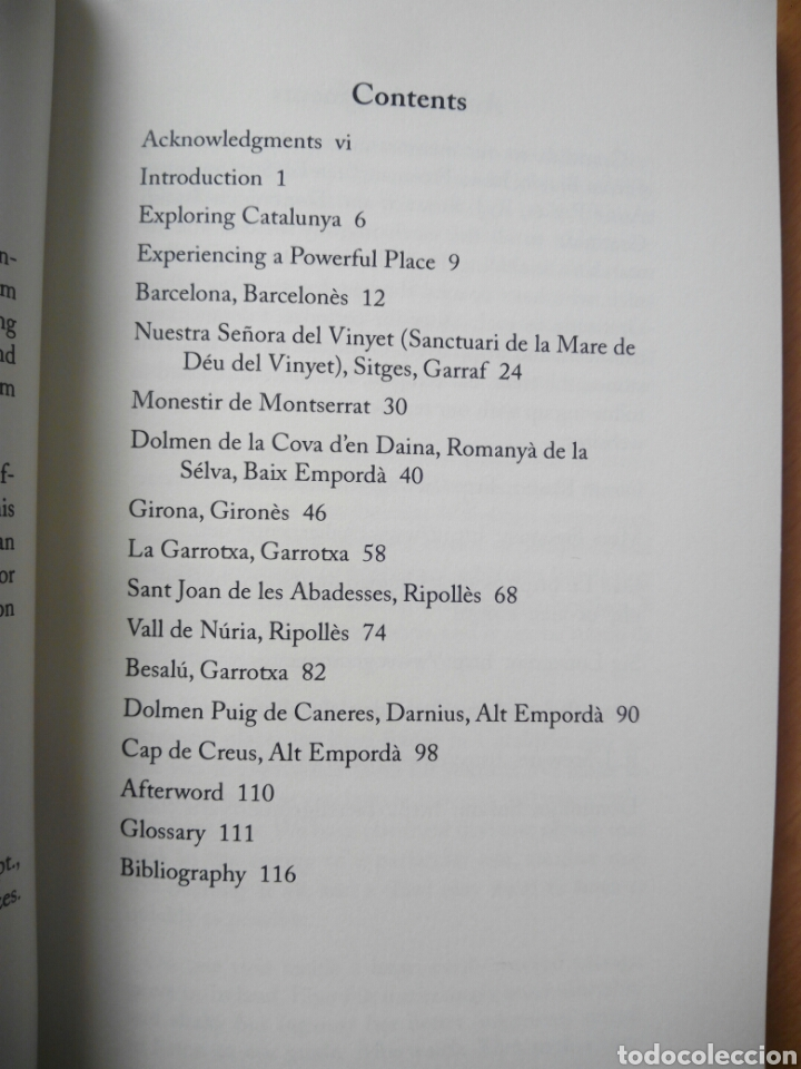 Libros de segunda mano: Powerful places Catalonia guía enigmas esoterismo Cataluña Besalú Girona english inglés - Foto 3 - 206767073