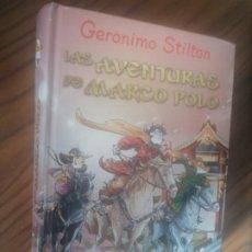 Libros de segunda mano: GERONIMO STILTON. LAS AVENTURAS DE MARCO POLO. DESTINO. TAPA DURA. BUEN ESTADO. Lote 206795557