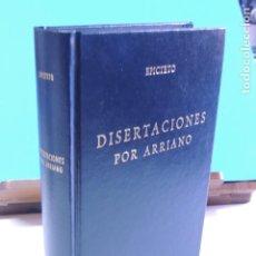 Libros de segunda mano: EPICTETO.-DISERTACIONES POR ARRIANO ( BIBLIOTECA CLÁSICA. GREDOS Nº 185). Lote 206796543
