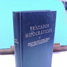 Libros de segunda mano: TRATADOS HIPOCRÁTICOS II. ( BIBLIOTECA CLÁSICA. GREDOS Nº 90). Lote 206798123