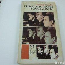 Libros de segunda mano: FERNANDO CLAUDIN. EUROCOMUNISMO Y SOCIALISMO. SIGLO VEINTIUNO DE ESPAÑA EDITORES-N 8. Lote 206799863
