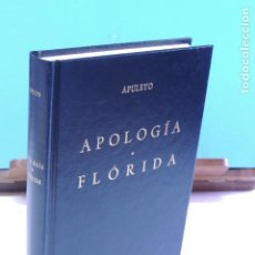 Libros de segunda mano: APULEYO.- APOLOGÍA . FLÓRIDA ( BIBLIOTECA CLÁSICA. GREDOS Nº 32 ). Lote 206799915