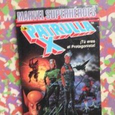 Livros em segunda mão: UNA MUERTE X-CELENTE - LA PATRULLA X - TU ERES EL PROTAGONISTA - MARVEL SUPERHÉROES 2. Lote 206809998