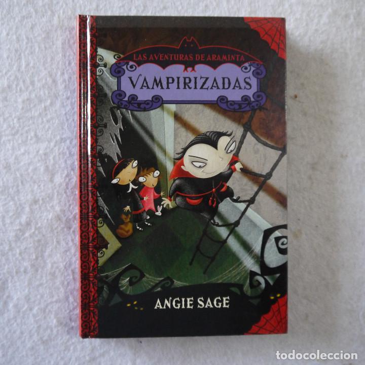LAS AVENTURAS DE ARAMINTA 4. VAMPIRIZADAS - ANGIE SAGE - MONTENA - 2011 (Libros de Segunda Mano - Literatura Infantil y Juvenil - Otros)