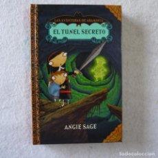 Libros de segunda mano: LAS AVENTURAS DE ARAMINTA 2. EL TÚNEL SECRETO - ANGIE SAGE - MONTENA - 2010. Lote 206818821