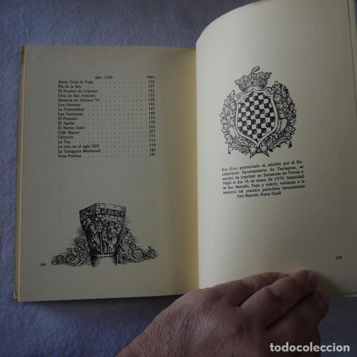 Libros de segunda mano: ESTAMPAS TARRACONENSES - MARCELO RIERA GÜELL (HOMENAJE POSTUMO) - 1979 - Foto 11 - 206821845