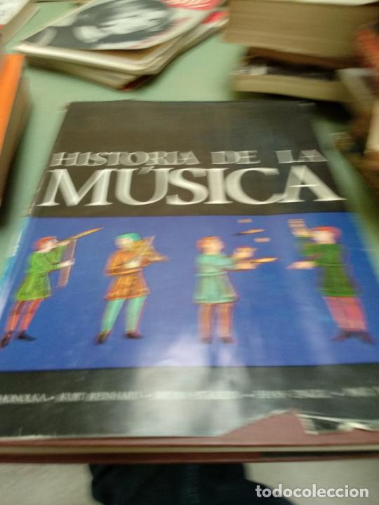 MÚSICA . HISTORIA DE LA MÚSICA KURT HONOLKA EDAF EDICIONES (Libros de Segunda Mano - Historia - Otros)