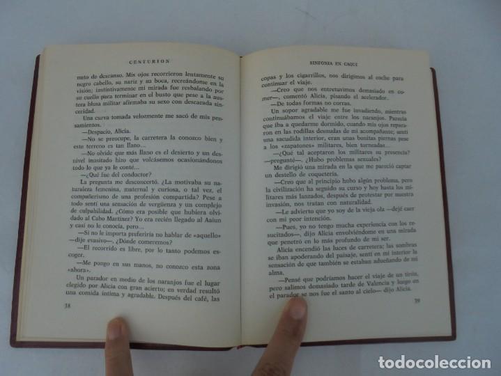 Libros de segunda mano: SINFONIA EN CAQUI. DEDICADO AL REY D. JUAN CARLOS DE BORBON. MANUEL SANCHEZ DE PAZOS, CENTURION - Foto 7 - 206841447