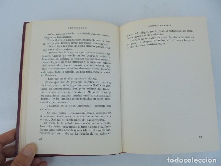Libros de segunda mano: SINFONIA EN CAQUI. DEDICADO AL REY D. JUAN CARLOS DE BORBON. MANUEL SANCHEZ DE PAZOS, CENTURION - Foto 8 - 206841447