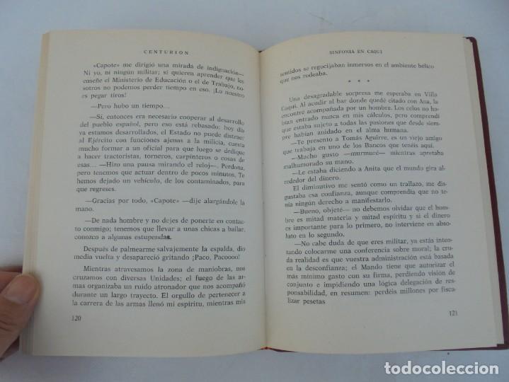 Libros de segunda mano: SINFONIA EN CAQUI. DEDICADO AL REY D. JUAN CARLOS DE BORBON. MANUEL SANCHEZ DE PAZOS, CENTURION - Foto 9 - 206841447