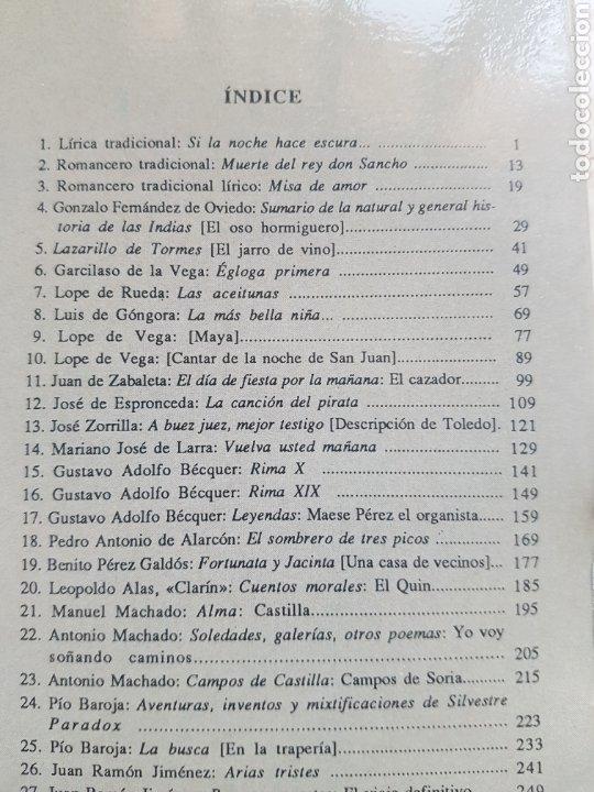 Libros de segunda mano: 40 cuadernos de Textos Literarios Comentados Nivel Básico Ediciones Cénlit 1991. Machado, Galdós ... - Foto 2 - 206844052