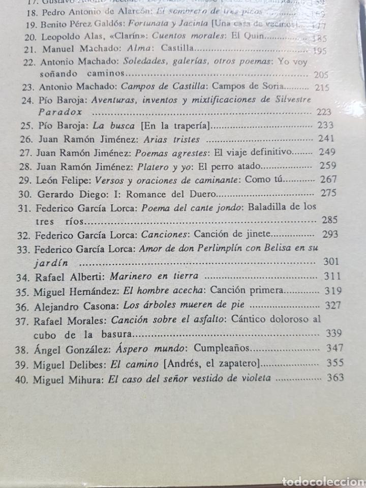 Libros de segunda mano: 40 cuadernos de Textos Literarios Comentados Nivel Básico Ediciones Cénlit 1991. Machado, Galdós ... - Foto 3 - 206844052
