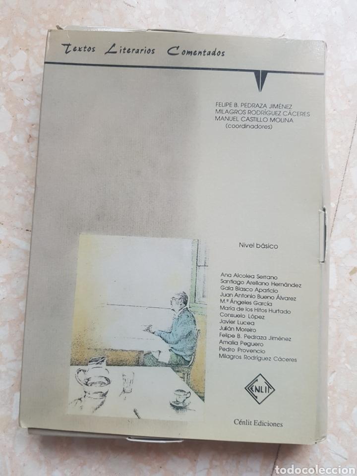 40 CUADERNOS DE TEXTOS LITERARIOS COMENTADOS NIVEL BÁSICO EDICIONES CÉNLIT 1991. MACHADO, GALDÓS ... (Libros de Segunda Mano (posteriores a 1936) - Literatura - Otros)
