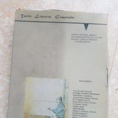 Libros de segunda mano: 40 CUADERNOS DE TEXTOS LITERARIOS COMENTADOS NIVEL BÁSICO EDICIONES CÉNLIT 1991. MACHADO, GALDÓS .... Lote 206844052