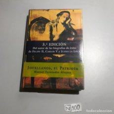 Libros de segunda mano: JOVELLANOS EL PATRIOTA. Lote 206854342