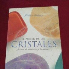 Libros de segunda mano: EL PODER DE LOS CRISTALES. HELENA GALIANA. CÍRCULO DE LECTORES. AÑO 2005. Lote 206893888