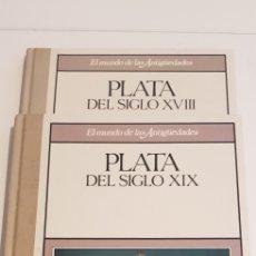 Libros de segunda mano: PLATA DEL SIGLO XVIII - XIX - EL MUNDO DE LAS ANTIGUEDADES (PLANETA AGOSTINI). Lote 206901981