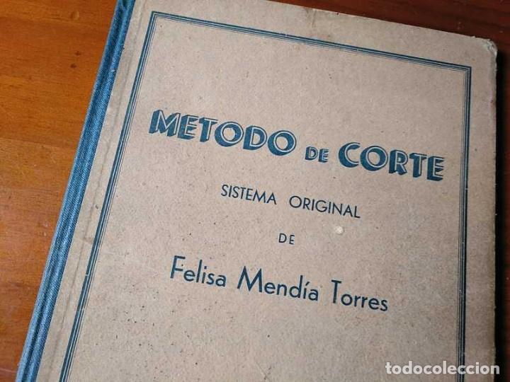 Libros de segunda mano: METODO DE CORTE SISTEMA ORIGINAL FELISA MENDIA TORRES MADRID PRESENTACION PROVISIONAL1942 CONFECCION - Foto 3 - 206904892