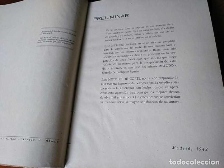 Libros de segunda mano: METODO DE CORTE SISTEMA ORIGINAL FELISA MENDIA TORRES MADRID PRESENTACION PROVISIONAL1942 CONFECCION - Foto 6 - 206904892
