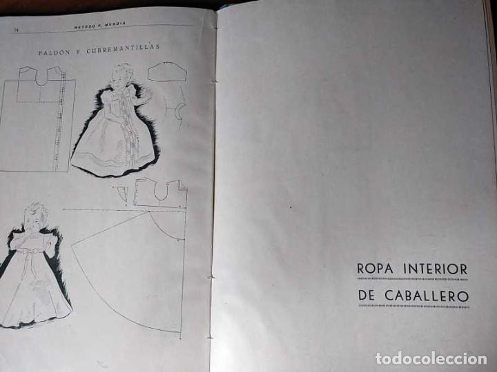 Libros de segunda mano: METODO DE CORTE SISTEMA ORIGINAL FELISA MENDIA TORRES MADRID PRESENTACION PROVISIONAL1942 CONFECCION - Foto 16 - 206904892