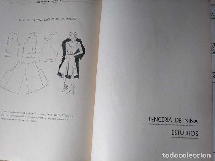 Libros de segunda mano: METODO DE CORTE SISTEMA ORIGINAL FELISA MENDIA TORRES MADRID PRESENTACION PROVISIONAL1942 CONFECCION - Foto 28 - 206904892