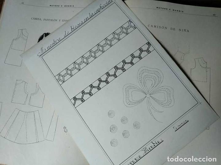 Libros de segunda mano: METODO DE CORTE SISTEMA ORIGINAL FELISA MENDIA TORRES MADRID PRESENTACION PROVISIONAL1942 CONFECCION - Foto 30 - 206904892