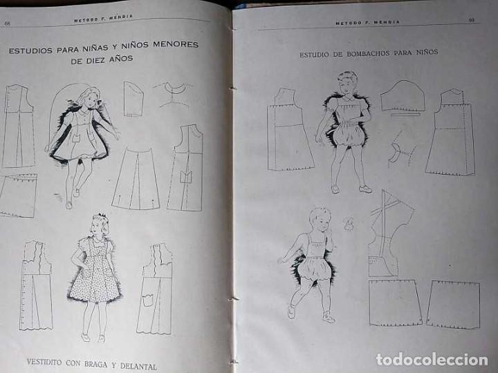 Libros de segunda mano: METODO DE CORTE SISTEMA ORIGINAL FELISA MENDIA TORRES MADRID PRESENTACION PROVISIONAL1942 CONFECCION - Foto 32 - 206904892
