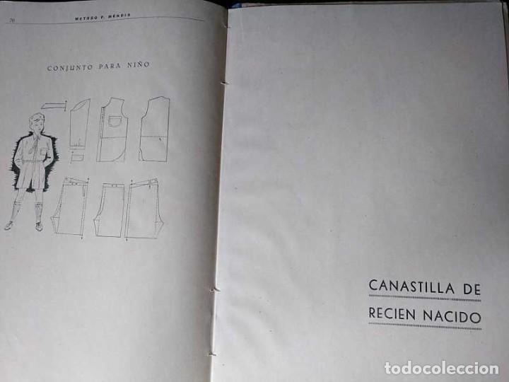 Libros de segunda mano: METODO DE CORTE SISTEMA ORIGINAL FELISA MENDIA TORRES MADRID PRESENTACION PROVISIONAL1942 CONFECCION - Foto 33 - 206904892