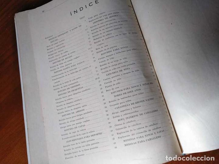 Libros de segunda mano: METODO DE CORTE SISTEMA ORIGINAL FELISA MENDIA TORRES MADRID PRESENTACION PROVISIONAL1942 CONFECCION - Foto 39 - 206904892