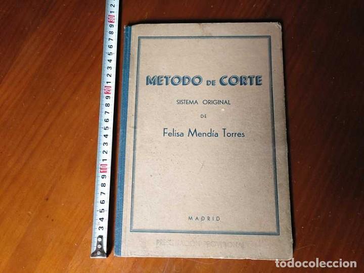 Libros de segunda mano: METODO DE CORTE SISTEMA ORIGINAL FELISA MENDIA TORRES MADRID PRESENTACION PROVISIONAL1942 CONFECCION - Foto 41 - 206904892