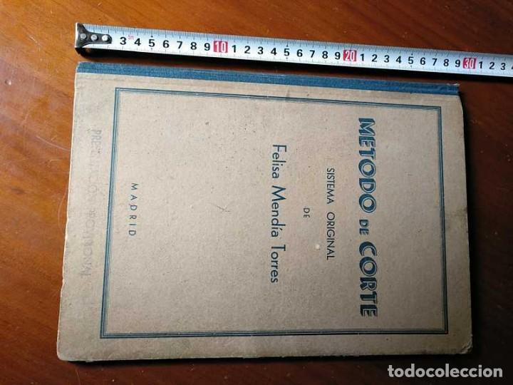 Libros de segunda mano: METODO DE CORTE SISTEMA ORIGINAL FELISA MENDIA TORRES MADRID PRESENTACION PROVISIONAL1942 CONFECCION - Foto 42 - 206904892