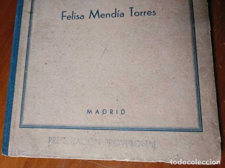 Libros de segunda mano: METODO DE CORTE SISTEMA ORIGINAL FELISA MENDIA TORRES MADRID PRESENTACION PROVISIONAL1942 CONFECCION - Foto 47 - 206904892