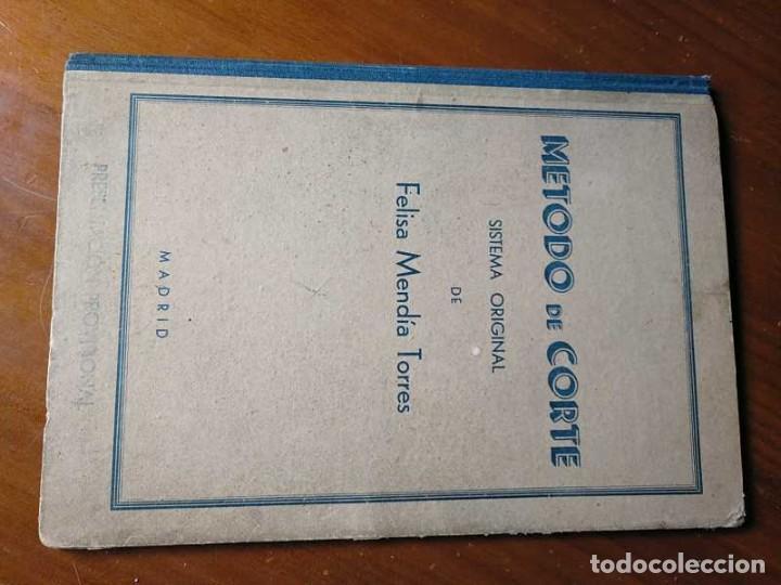 Libros de segunda mano: METODO DE CORTE SISTEMA ORIGINAL FELISA MENDIA TORRES MADRID PRESENTACION PROVISIONAL1942 CONFECCION - Foto 48 - 206904892