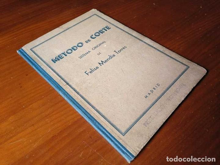 Libros de segunda mano: METODO DE CORTE SISTEMA ORIGINAL FELISA MENDIA TORRES MADRID PRESENTACION PROVISIONAL1942 CONFECCION - Foto 49 - 206904892
