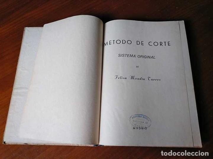 Libros de segunda mano: METODO DE CORTE SISTEMA ORIGINAL FELISA MENDIA TORRES MADRID PRESENTACION PROVISIONAL1942 CONFECCION - Foto 60 - 206904892
