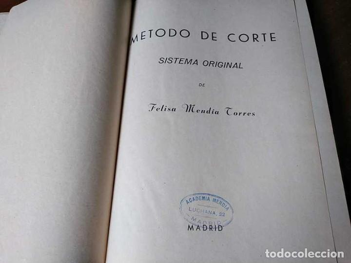 Libros de segunda mano: METODO DE CORTE SISTEMA ORIGINAL FELISA MENDIA TORRES MADRID PRESENTACION PROVISIONAL1942 CONFECCION - Foto 61 - 206904892