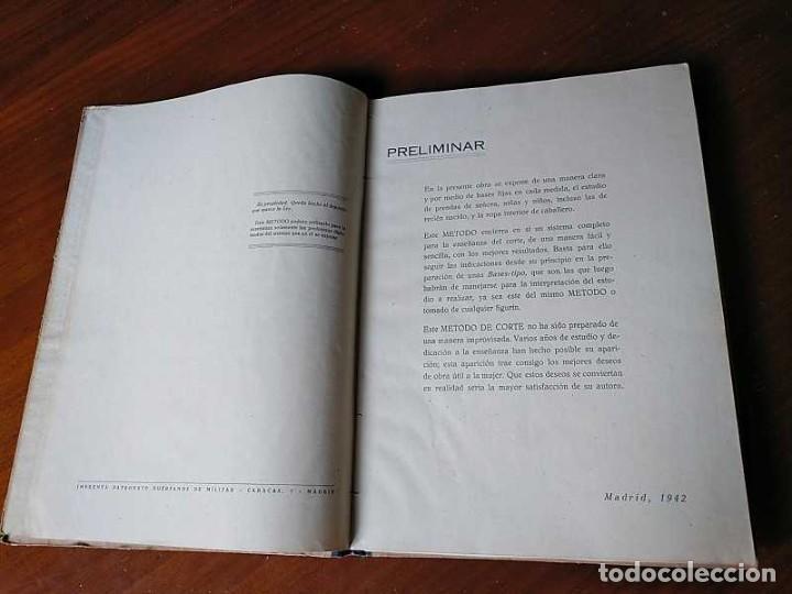 Libros de segunda mano: METODO DE CORTE SISTEMA ORIGINAL FELISA MENDIA TORRES MADRID PRESENTACION PROVISIONAL1942 CONFECCION - Foto 62 - 206904892