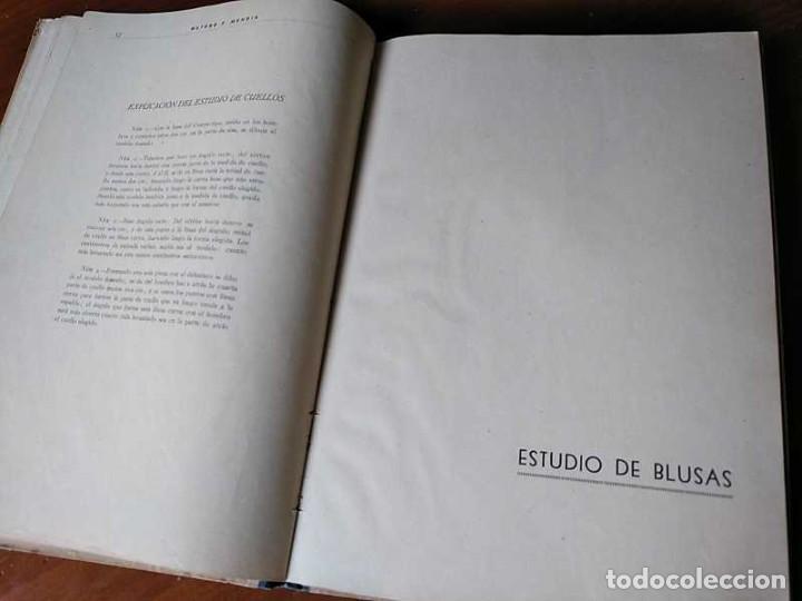 Libros de segunda mano: METODO DE CORTE SISTEMA ORIGINAL FELISA MENDIA TORRES MADRID PRESENTACION PROVISIONAL1942 CONFECCION - Foto 68 - 206904892