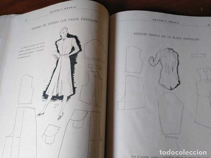 Libros de segunda mano: METODO DE CORTE SISTEMA ORIGINAL FELISA MENDIA TORRES MADRID PRESENTACION PROVISIONAL1942 CONFECCION - Foto 87 - 206904892