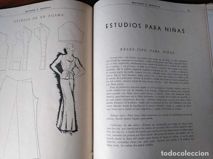 Libros de segunda mano: METODO DE CORTE SISTEMA ORIGINAL FELISA MENDIA TORRES MADRID PRESENTACION PROVISIONAL1942 CONFECCION - Foto 93 - 206904892