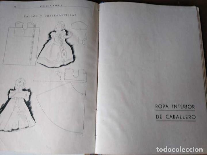 Libros de segunda mano: METODO DE CORTE SISTEMA ORIGINAL FELISA MENDIA TORRES MADRID PRESENTACION PROVISIONAL1942 CONFECCION - Foto 101 - 206904892