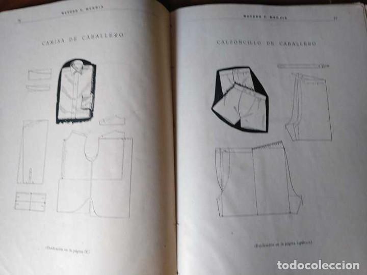 Libros de segunda mano: METODO DE CORTE SISTEMA ORIGINAL FELISA MENDIA TORRES MADRID PRESENTACION PROVISIONAL1942 CONFECCION - Foto 102 - 206904892