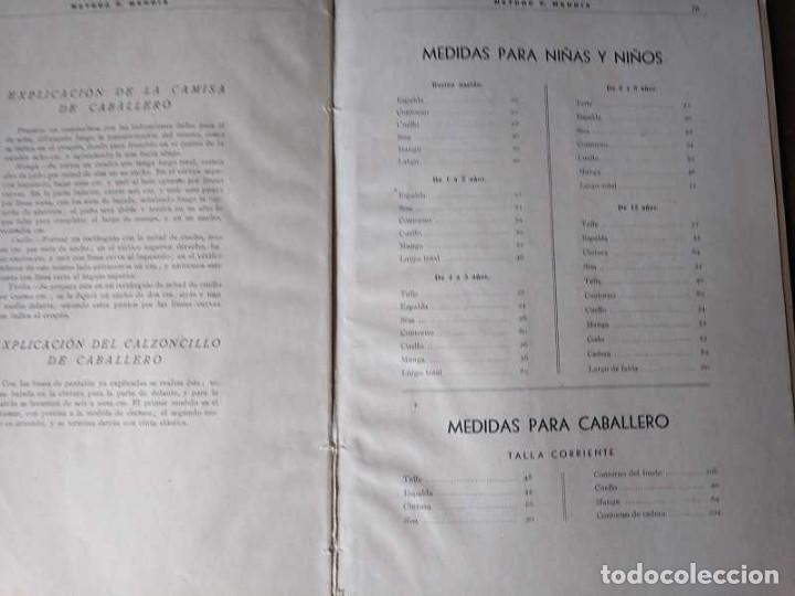 Libros de segunda mano: METODO DE CORTE SISTEMA ORIGINAL FELISA MENDIA TORRES MADRID PRESENTACION PROVISIONAL1942 CONFECCION - Foto 103 - 206904892