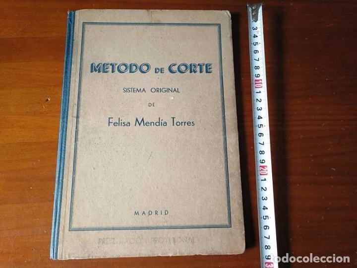 Libros de segunda mano: METODO DE CORTE SISTEMA ORIGINAL FELISA MENDIA TORRES MADRID PRESENTACION PROVISIONAL1942 CONFECCION - Foto 105 - 206904892