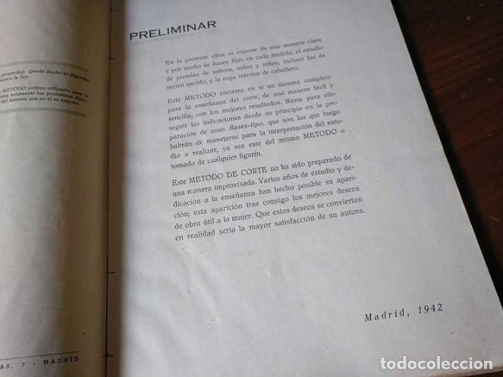 Libros de segunda mano: METODO DE CORTE SISTEMA ORIGINAL FELISA MENDIA TORRES MADRID PRESENTACION PROVISIONAL1942 CONFECCION - Foto 109 - 206904892