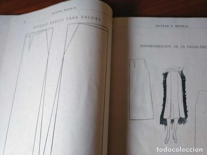 Libros de segunda mano: METODO DE CORTE SISTEMA ORIGINAL FELISA MENDIA TORRES MADRID PRESENTACION PROVISIONAL1942 CONFECCION - Foto 112 - 206904892