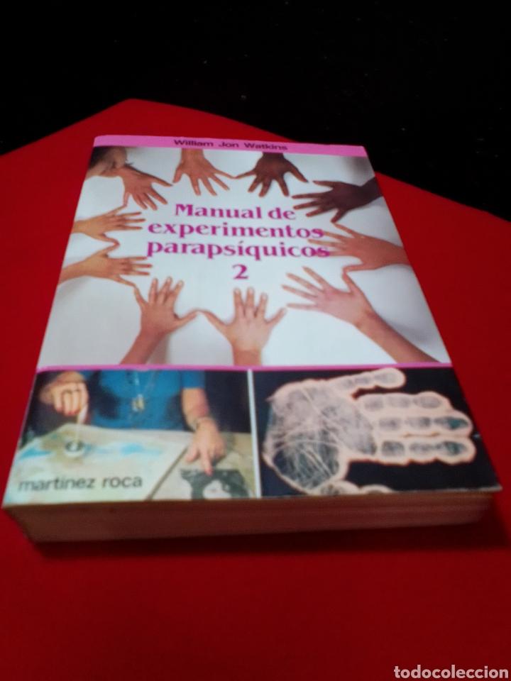 Libros de segunda mano: MANUAL DE EXPERIMENTOS PARAPSICOLOGICOS 2. - Foto 2 - 206961273